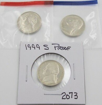 PD in mint cellos 2003 P D S BU and Proof Jefferson Nickels Three coin set