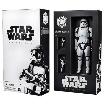 """SDCC First Order Stormtrooper Exclusive  Star Wars Black Series 6"""" Action Figure"""