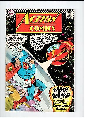 DC ACTION COMICS #342 Superman 1966 VG Vintage Comic