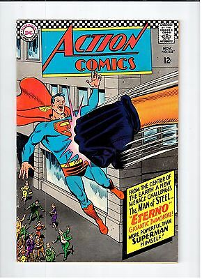 DC ACTION COMICS #343 Superman 1966 VG+ Vintage Comic