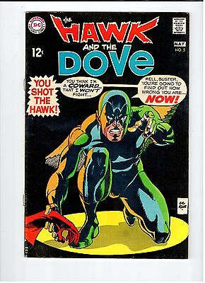 DC HAWK AND DOVE #5 Kane cover and art 1969 Vintage Comic