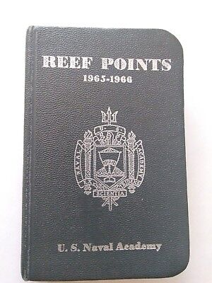 Reef Points 1965-1966 Us Naval Academy Book