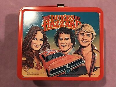 The Dukes of Hazzard Metal Lunch Box