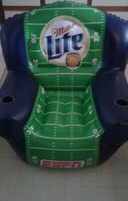 Miller Lite Beer ESPN Inflatable Promo Chair Football Advertising Man Cave New
