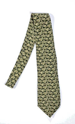 THE NATURE CONSERVANCY Mens Tie Silk Hand Made Red Eyed Tree Frog