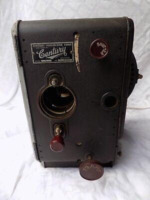 Vintage 35mm Century Model C Theater Movie Projector Antique As-Is For Parts