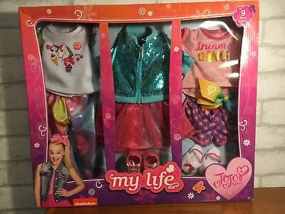 NEW My Life As Jojo Siwa 2018 Travel Set Clothes Clothing Free Priority Shipping