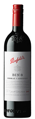 Penfolds Bin 8 Cabernet Shiraz 750mL ea - Red Wine - Origin Australia