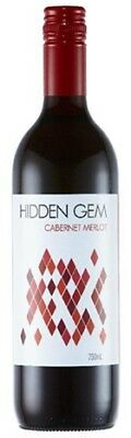 Hidden Gem Cabernet Merlot 750mL ea - Red Wine - Origin Australia