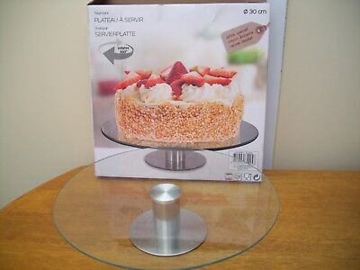 30cm ROTATING CAKE SERVING AND DECORATING NEW BOXED