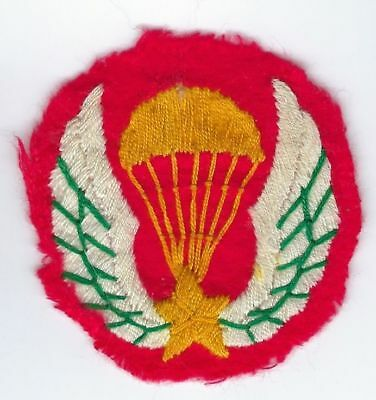 ARVN Special Forces Hand Embroidered Beret Badge South Vietnamese Original 2""