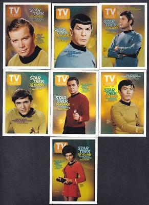 Star Trek Quotable Tos Tv Guide Covers Set