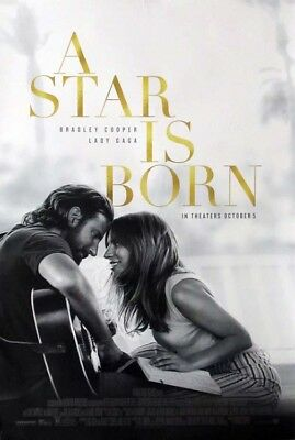 A STAR IS BORN great 27x40 D/S movie poster