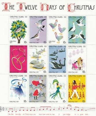 72141 / Fauna ** MNH Block Vogel Christmas Islands