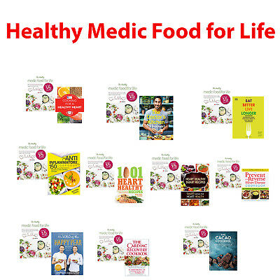 Cooking for a Healthy Heart Medic Food for Life,Eat Better, Live Longer,Cardiac