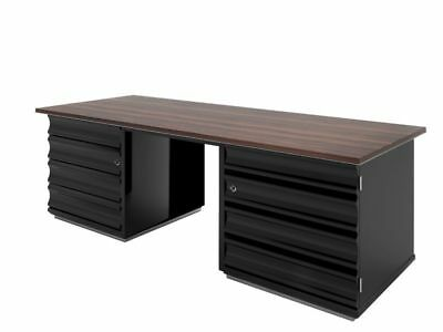 Macassar Wood Desk in Art Deco Style
