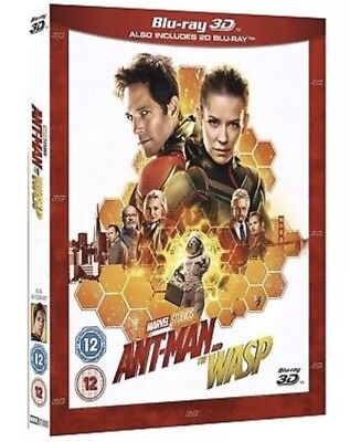 Ant-Man and the Wasp 3D & 2D Bluray free Shipping pre-order