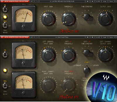 Waves PuigChild COMPRESSOR Plug-in v9/v10 *NEW*+1yr WUP (Fairchild 660/670)