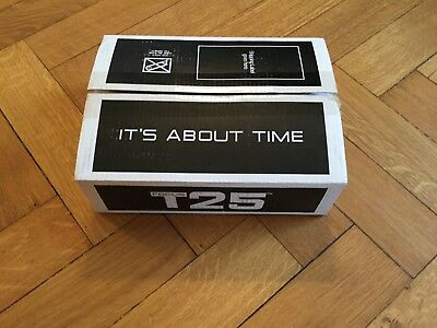 """T 25 By """"Shaun T"""" Workout DVDs Manuals Accessories BNIB"""