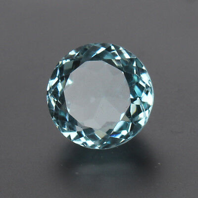 18.50 Ct. Natural Aquamarine Greenish Blue Color Round Cut Certified Loose Gems