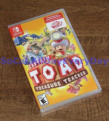 Captain Toad: Treasure Tracker (Nintendo Switch) BRAND NEW & FACTORY SEALED! nsw