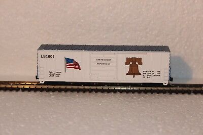 Freight Carriage,10042 Liberty Belle Evans 50',kadee Style Couplers