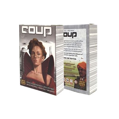 Coup Full English Version Basic Reformation Board Game Party Cards With Rules