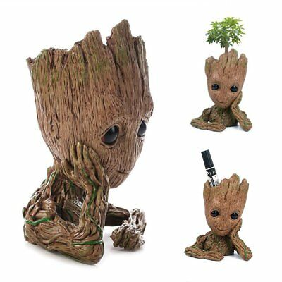 Guardians of The Galaxy Vol. 2 Baby Groot Figure Flowerpot Style Toy Gift