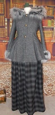 New Ladies Victorian Costume Steampunk Outlander Cosplay UK size 14 - 16