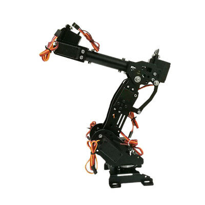 DIY Metal Robot Arm Claw Arduino kit 8DOF Toys Mechanical Grab Manipulator