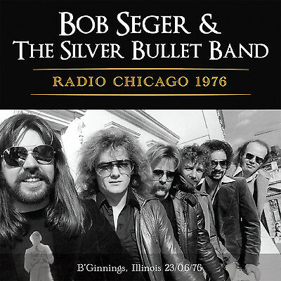BOB SEGER New Sealed 2018 UNRELEASED LIVE 1976 CHICAGO CONCERT CD