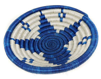 Uganda Basket Bowl Coiled African Art SALE WAS $25.00