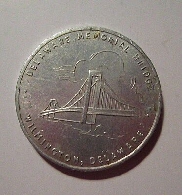Vintage 1951 Delaware Memorial Bridge Commemorative Coin Delaware Collectible