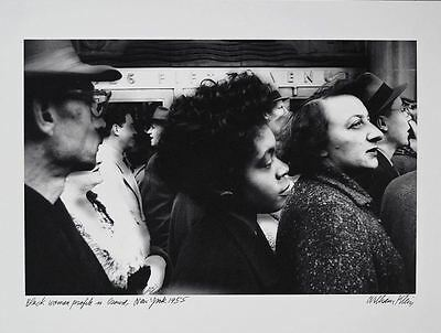"WILLIAM KLEIN ""Black Woman Profile in New York, 1955"" + TWO GREAT GIFTS."