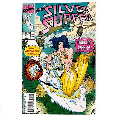 Marvel Comics - The Silver Surfer Comic - Issue 91 - 1994