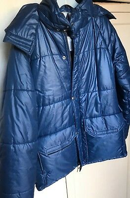 Vintage Alpine Products  POLARGUARD Down Jacket Med. puffer, winter warmth Hood