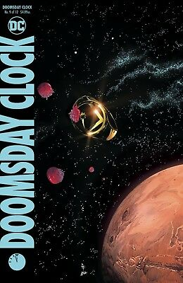 Doomsday Clock # 9 of 12 Regular Cover NM DC Pre Sale Ships Jan 23rd