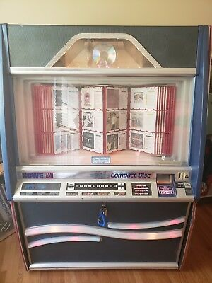 Rowe CD 100B Commercial Coin Operated 100 CD Jukebox