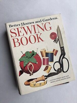 Vintage Better Homes and Gardens Sewing Hardcover Book 1970