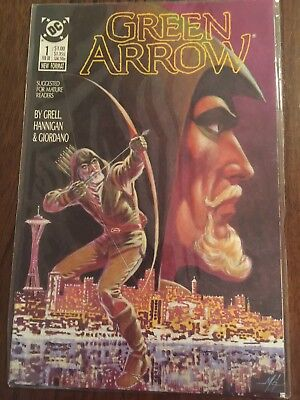 "DC Comics ""Green Arrow"" by Mike Grell Issues #1-6 VF/NM"