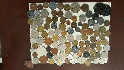 Bulk Lot of Assorted World Foreign Coins- Nice Assorted Mix!