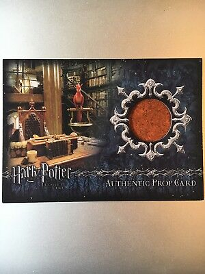 Harry Potter Goblet Of Fire Prop Card Books P3 242/350