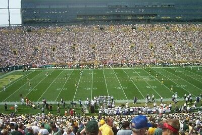 Section 1 (4) Seats on the 35 yard line @ Lambeau Field, December 30 at Noon.