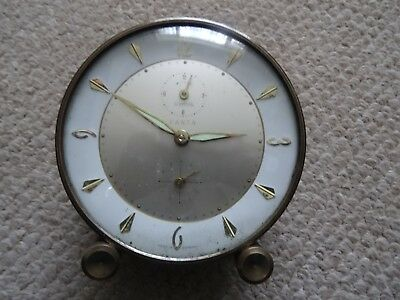 Art Deco 1930S Wehrle Fanta Wind Up Alarm Clock Vintage, Working, Made Germany