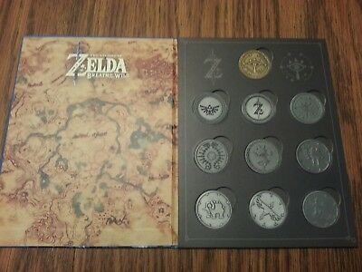 The Legend Of Zelda Thinkgeek Collectible Coins Full Set