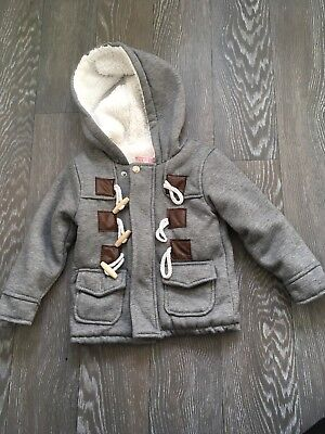 Boys Duffle Coat 9-12months