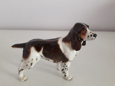 "Royal Doulton Dog - Springer Spaniel Champion ""Dry Toast"" Figurine HN 2517"