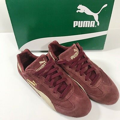 715f5886532 Puma Speed Cat Shoes Men s Motorsport Shoes 417302-13 Burgundy Gravel Size 7
