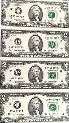 The Wisdom Of Thomas Jefferson Collection Uncut Sheet Two Dollars Series 2003