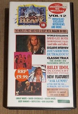 HARD N' HEAVY - Volume 12 (Seputura David Lee Roth)  ~VHS~ *Video Cassette*